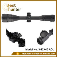 Rifle take aim Optic rifle scope/riflescope with sunshade/riflescopes hunting