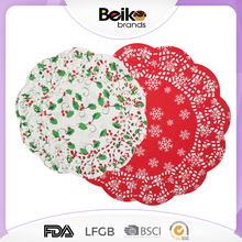 Wholesale paper doilies paper lace doilies for party decoration colored paper doilies