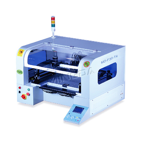 SMT pick and place machine/4 Heads SMT MD-F40-T4 SMD Pick and Place Machine for sale!