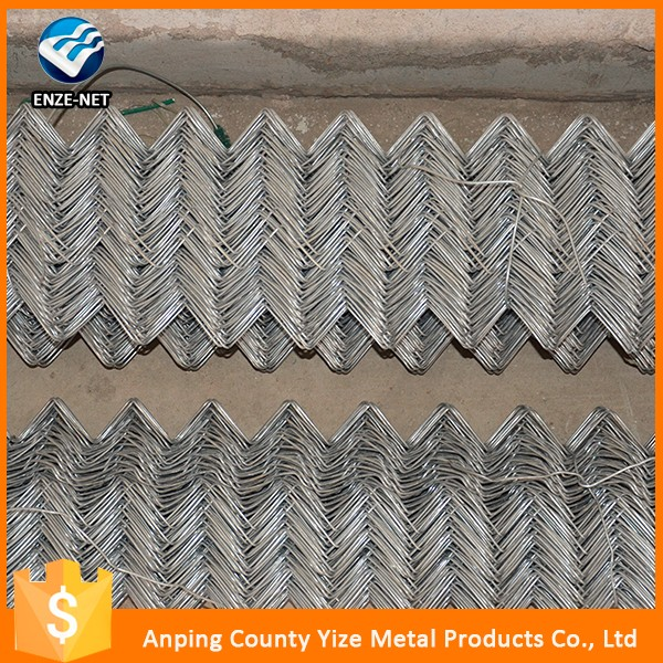 Hot selling galvanized steel flower bed fencing