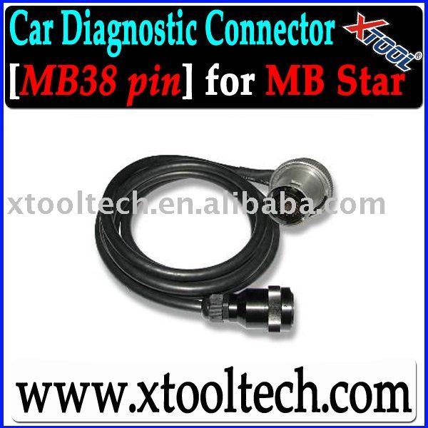 [Xtool] OBDII Auto Diag Cable MB38PIN for MB Star in Stock