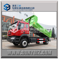 2015 Popular Model Dongfeng mini tipper truck/dump truck for sale 8Ton from factory
