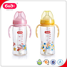 USA hot sale BPA Free Healthy safety green baby bottle
