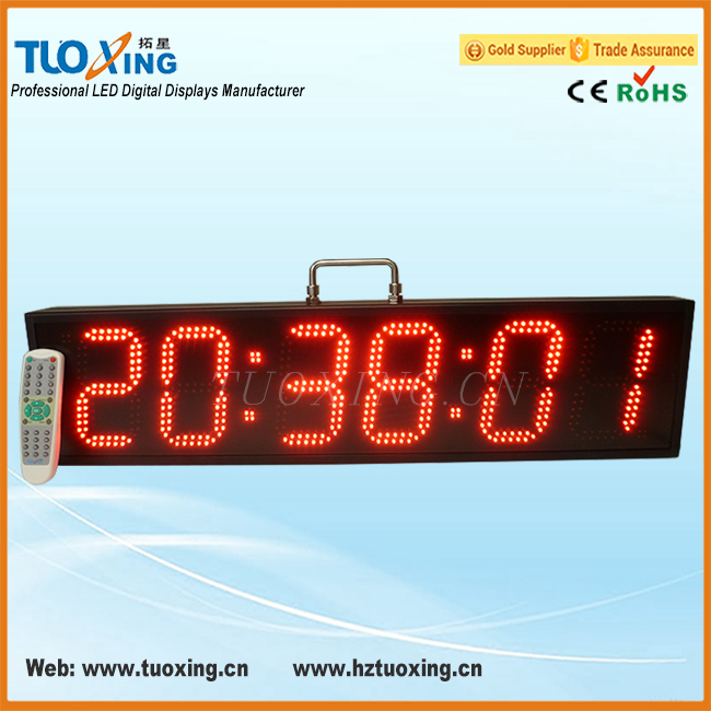 6 inch 6 digits led race timer