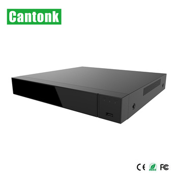 Cantonk New H.265 5MP 5-IN-1 16CH XVR with 2HDD