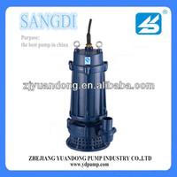 WQ/WQD stainless steel engineering sump pump