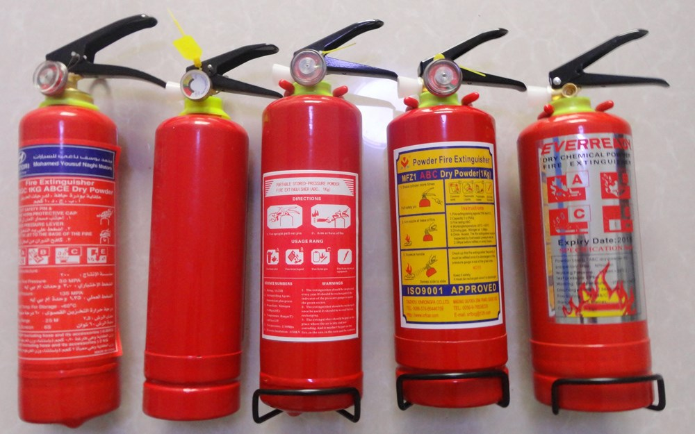 Small Emergency 1KG ABC Dry Powder Fire Extinguisher for Car
