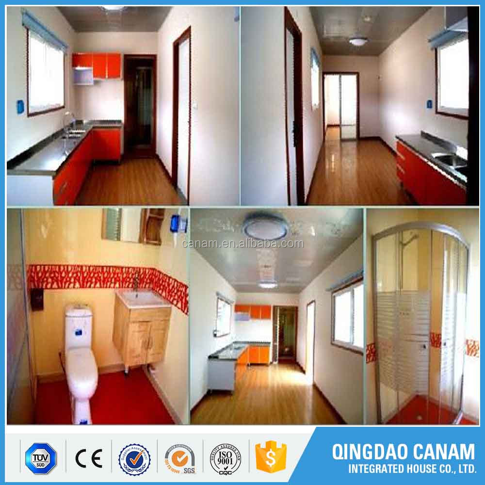 China Leading technology prefab modular house shipping container homes/office/storage for sale to canada