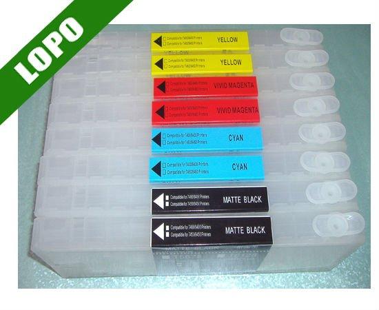 Refillable Ink Cartridge For Epson 7400 9400 7450 9450