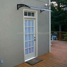 Durable Polycarbonate door awning, Polycarbonate transparent canopy