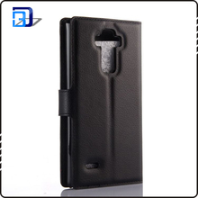 New popular business style wallet card holder phone case for lg g4 note