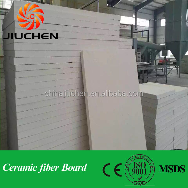 electrical insulation panel aluminum silicate fiber board