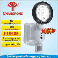 rechargeable emergency channel lights with lead-acid battery