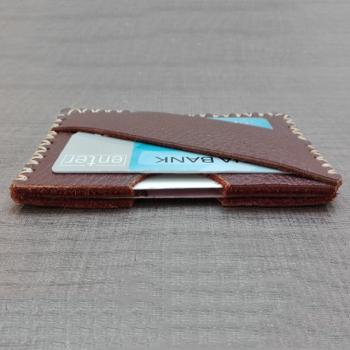 Guangzhou factory supplier hot sale high quality business card holder leather cardholder