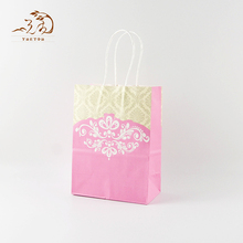 Customized Printed Foldable Fashion Colorful Paper Shopping Tote Bag
