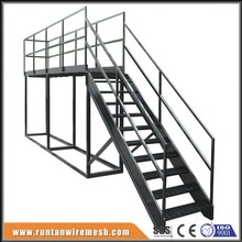 Painting coated painted serrated steel outdoor stair tread