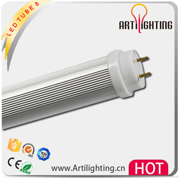 Factory sale red type six 8 led tube8 light