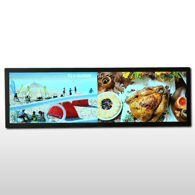 Subway lcd screen with <strong>1000</strong>:1 contrast dynamic route map display panels