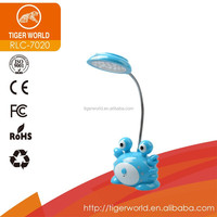 china factory oem odm shadeless funky table cute desk lamps