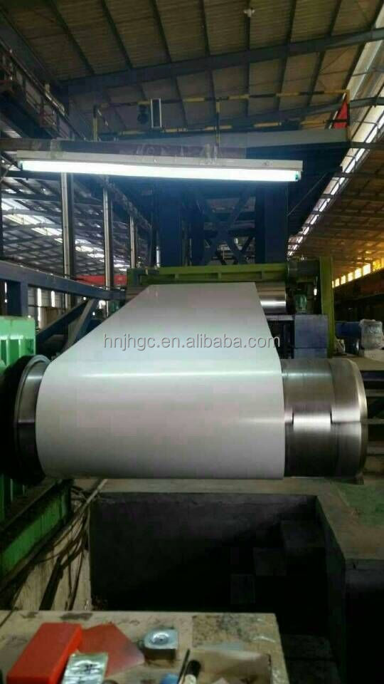 Pre-painted galvanized steel coil with different color according to RAL color code
