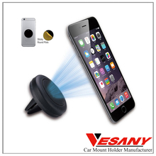 Vesany ABS magnética <span class=keywords><strong>GPS</strong></span> Magnetic Air Vent Mount car holder