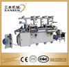 servo control (SBM-240) 2-seater film, paper, foil die cutting & hot stamping, hologram label laser sticker die cutter with foil