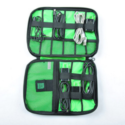 High quality Earphone Cable Organizer Bag USB Flash Drives Case Digital Storage Pouch Travel Bag