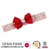 Best seller baby girl lace bow knot soft headband