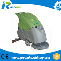 Wash floor dry cleaning machine