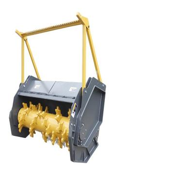HCN 0513 skid loader high flow mulcher attachment