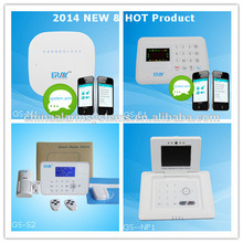 Smart voice wireless home perimeter alarm system with Android/IOS APP