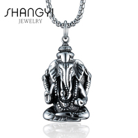 Nice Titanium Quality Bohemian Elephant Necklace