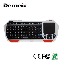 High Quality Ultra-thin Mini Portable Bluetooth Keyboard Touchpad 3.0 for PC Tablet Smartphone