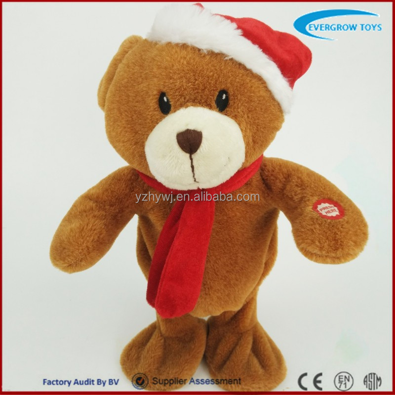 hot selling musical dancing animated singing christmas toys