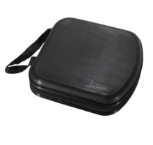 NEW Portable CD Storage Bag 40-pieces DVD hard Plastic Protector Carrying Case
