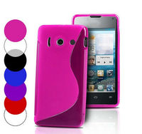 High Quality Soft TPU Gel S line Skin Cover Case For Huawei Ascend Y300 U8833 T8833