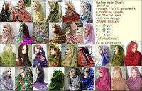 Biz Starter pack- Custom Made Shawls paisley,vintage,floral, and exclusive Classic Pashmina