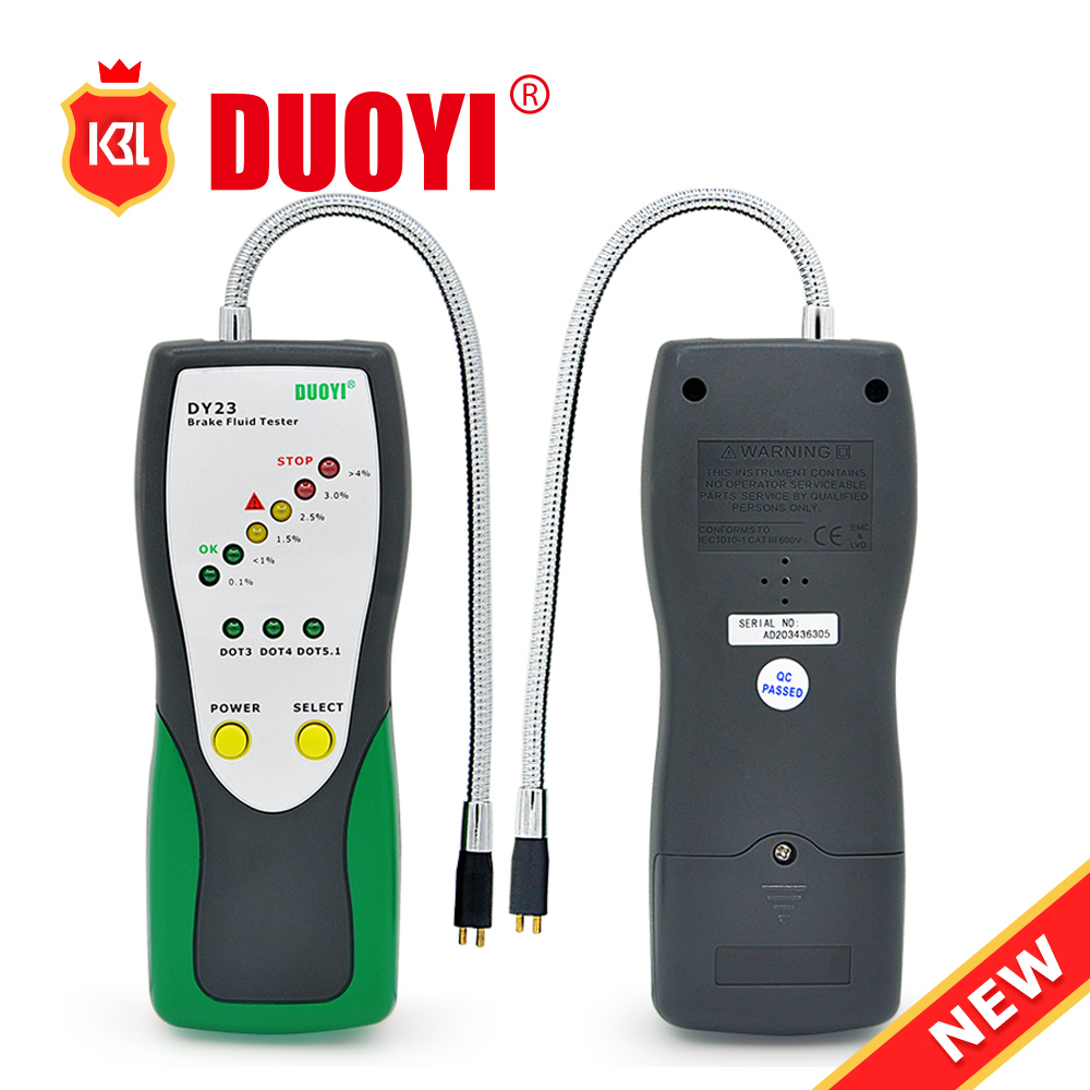 2016 Top selling Brake Fluid Tester DY23 Automative Digital Brake Fluid Inspection Tester