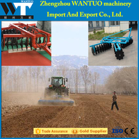 HOT sale hydraulic elevating heavy duty disc harrow for tractors
