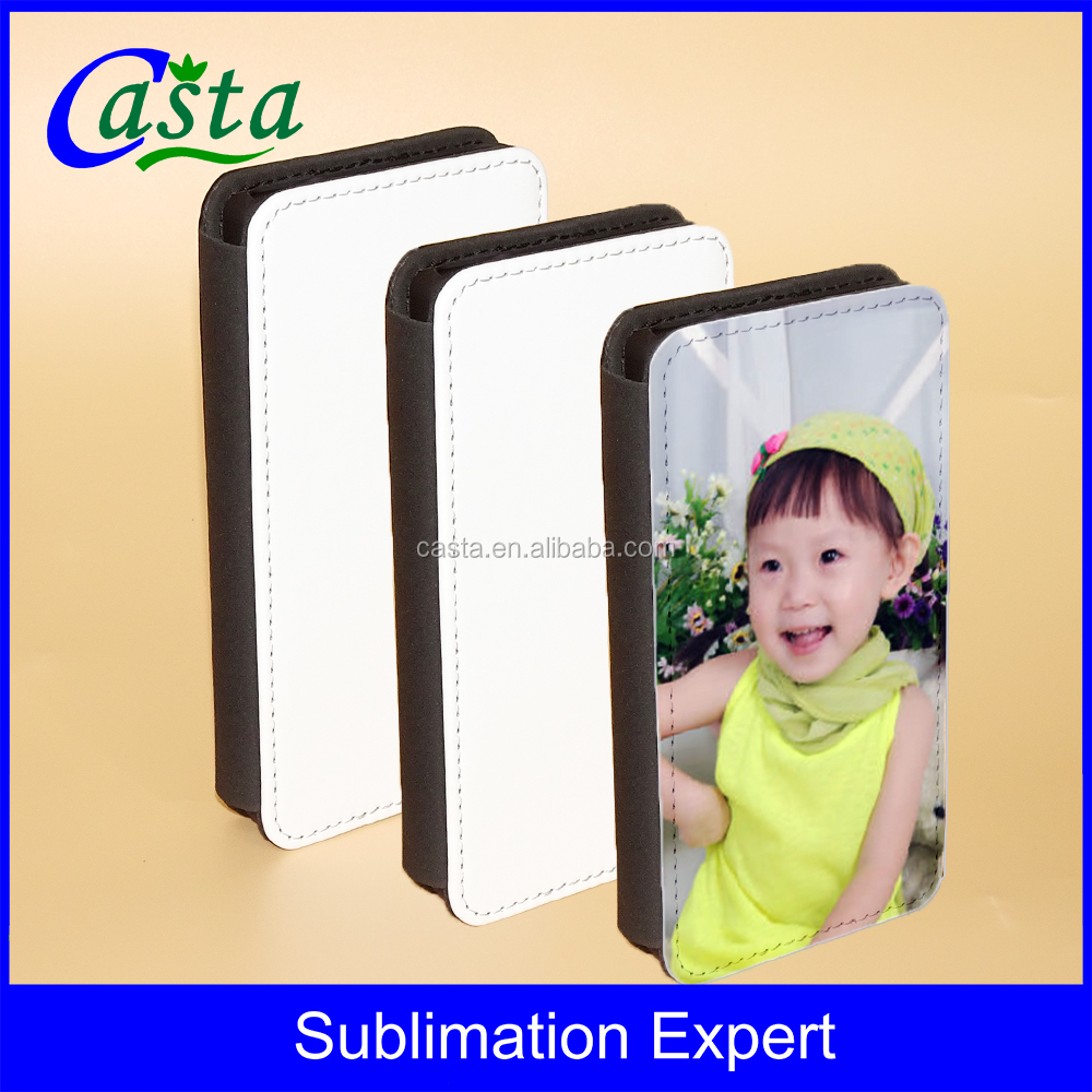 Sublimation For Sony Xperia Z5 Compact Flip leather case Stand leather wallet case for Z5 Mini for E5823 mobile phone cover