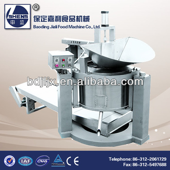 Fried snack deoiling equipment with CE