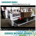 cangzhou zhaoli Hot sale automatic carton flexo folder gluer machine for corrugated boxes