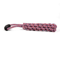 Lovely Popular Chain Link Toy For Pets Rawhide Twist Sticks Dog Chew