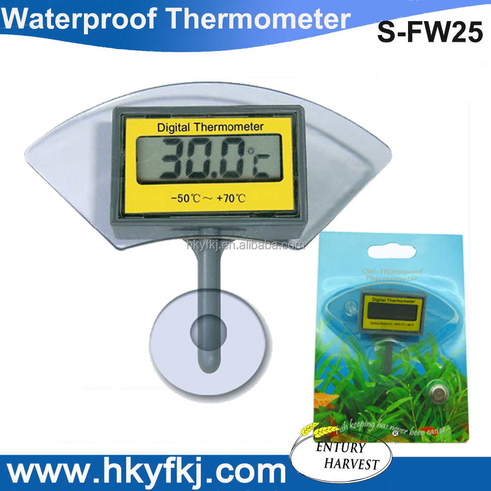 submersible digital thermometer wireless outdoor waterproof thermometers