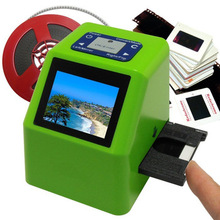Resolution 5MP Scanner/Digitizer - Converts 35mm Negatives & Slides to 14 Mini Scanner Film Handy Portable Film Scanner