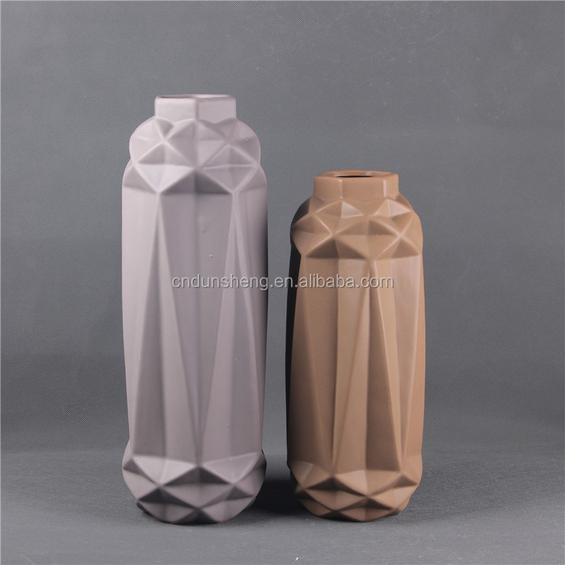 manufacture chinese cheap ceramic decorative flower vase for home decor