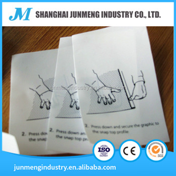 China suppliers HDPE Strength film for printing label/tag like Valeron