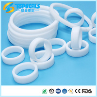 Shanghai topseals virgin teflon heat exchanger ptfe gasket