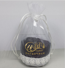 Premium Candy Gift Perfume Wedding Organza Bags in hot stamping logo