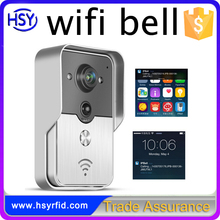 Outdoor video door phone security system hd megapixel wireless cloud ip mini camera wifi doorbell camera